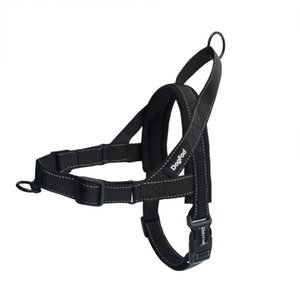 leicht zu fuß gurtzeug großhandel-Hundegeschirr einfaches An und Ausziehen Adjustable Medium Large Hunde Reflektierende Kein Pull Trainingsweste für Haustier Hunde Gehen Harness