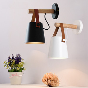 Nordic Belt Wall Lamp 2 Designs Bedroom Bedside Lamp Stair Corridor Balcony Wall Lamp 1 Pieces DHL