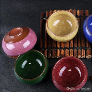Ceramic Ice Crack Small jar essential oil bowl Makeup Beauty DIY Facial Face Mask Bowl fast shipping 2019011917