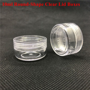 Plastic Wax Containers Jar Box Cases Wax Holder container Food Grade Wax Tools Storage For Silicone Pipes Smoking Glass Bongs