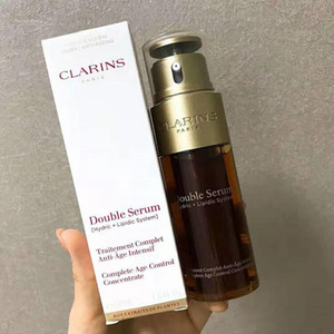 Top Quality Paris Double Serum Hydric Lipidic System Traitement Complet Intensif Facial Essence 50ml