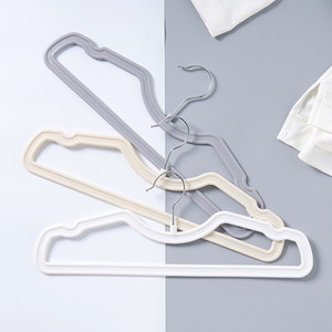 Wholesale Creative space home clothes hangers can be rotated anti skid adult clothes hanging racks drying racks do not hurt clothes