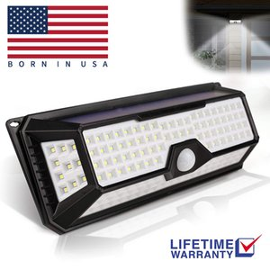 Wholesale Solar LED Lights Outdoor Wall Lamps PIR Motion Sensor Garden Street Light Powered Wall Lamp Waterproof IP65