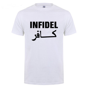 Wholesale Usmc Us Army Infidel Pagan The Tactical Military Camouflage T Shirt Men Women Streetwear Short Sleeve Round Neck Casual T Shirt