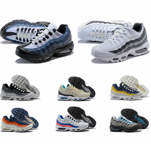 Men Running Shoes Pull Tab Black Brown White Slate Blue Best Quality Classic Sport Sneakers Designer Shoes Size 36-46