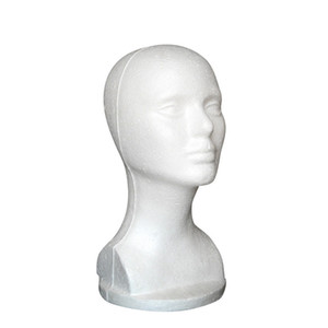 Wholesale New Fashion Hat Hair Wig Mannequin Stand Display Head Model tete de perruque S1