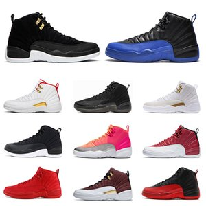 Wholesale New Mens s basketball shoes Game Royal Reverse Taxi HOT PUNCH NYLON Gym Red Flu Game Taxi sports sneaker trainers size