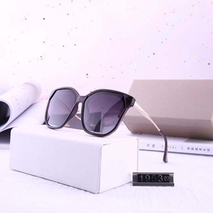 Design sunglasses-new 2019 lady's large frame color film polarized sunglasses model 1953 High Quality with Box