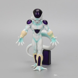 Wholesale Comic Anime cm Freeza Freezer PVC Action Figures Akira Toriyama Dragon Ball Z Frieza Final State Model Toys