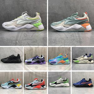 Wholesale New RS X Toys Reinvention Casual Dad Shoes Luxury Designer Mens Trainers Women Running System Bumblebee Sneakers Sports Shoes Size