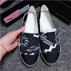 Wholesale New Fashion Comfortable Womens Espadrilles Shoes flats slides ladies Casual Loafers canvas shoes for Women fisherman s shoes size