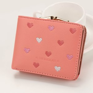 Wholesale Youda New Ladies Short Wallets Cute Simple Multi functional Women s Mini Wallet Fashion Portable Style Card Bag Small Money Bags