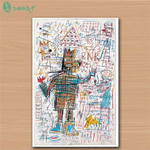 Jean Michel Basquiat -8,HD Canvas Print Home Decor Art Painting  (Unframed Framed)