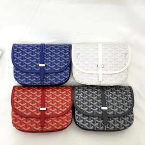 Brand New Goyarrd Goyar GY designer High quality Classic Calfskin Leather Shoulder Bag Belvedere Pm Cross Body Bag