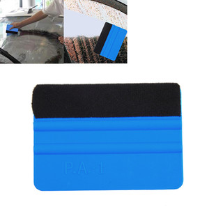 Wholesale 99 mm Auto products vinyl Car Wrap soft Felt Edge Scraper Felt Squeegee car stickers Decal Wrap Applicator Cleaning Tools