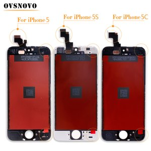 Ovsnovo Top Quality Screen For iPhone 5 LCD Screen Display and Digitizer Replacement Touch Screen For iPhone 5c 5s 6 6 plus LCD