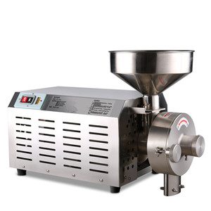 Commercial Herb Grinder Spice Grinder Rice Wheat Corn Herb Powder Making Machine Pepper Chilli crusher machine