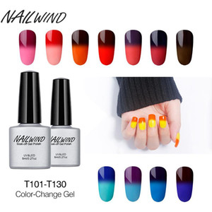 HobbyLane Nail Gel Polish 8ML Temperature Color Changing UV LED Nail Gel Long Lasting Macaron Soak Off Varnish Lacquer on Sale