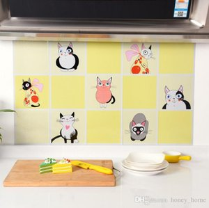 75x45cm Kitchen DIY Foil Oil Wall Stickers Decor Sticker Art Home Decorations Supplies on Sale