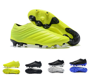 Wholesale high green soccer shoes for sale - Group buy Ace PureControl football soccer shoes NSG FG AG silver green slip on HIGH TOP boots shoes sale