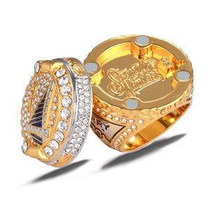 Wholesale 2017 American Basketball Championship Men s Champion Ring High Quality Alloy Hip Hop Ring Jewelry Luxury Birthday Gift