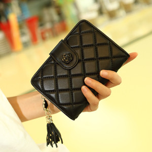 Wholesale Leather Checkbook Wallets Case for Women Credit Card Slots Clutch Womens Coin Purse with ID Window