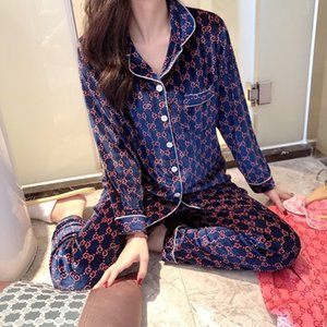 New products in autumn and winter Korean version of the big home gold velvet long-sleeved pajamas ladies high-end wearable home clothes wh