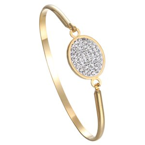 Wholesale Oval high grade Cross Heart Mather stainless steel bracelet For Women Gold Circle Square Shape For Women Girls Best Gift