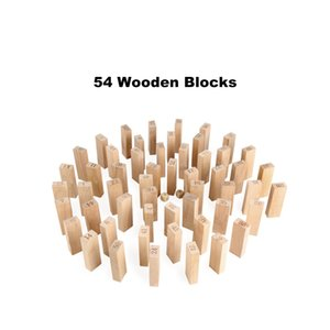 Wholesale Classic Jenga Game Timber Tower Wood Block Stacking Games Family Puzzle Playing Building Block Toy Funny To Children