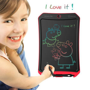 "8.5"" LCD Writing Tablet Drawing Board Colorful Paperless Digital Notepad Rewritten Pad for Draw Note Memo Remind Message"