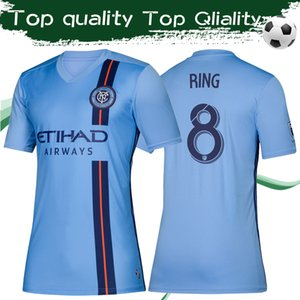 Wholesale 2019 MLS New York City home blue Soccer jerseys MLS Adult soccer Shirts NY City FC customized football Uniforms On sale Drop shipping