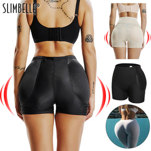Wholesale Amazing Seamless Women Shaper Butt Lifter Enhancer Padded Control Panties Boyshort Briefs Fake Ass Buttock Hip Pants Underwear T191116