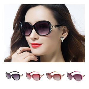 Wholesale fox sunglasses resale online - Fashion Women Polarized Sunglasses Sexy Fox Sun Glasses Goggles Anti UV Spectacles Oversize Frame Eyeglasses SUN Glasses A