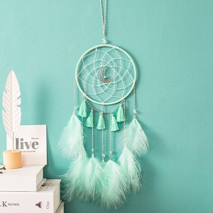 Wholesale Moon dream catcher wind bell pendant elegant and beautiful graduation gift creative birthday present hanging decorations in the room
