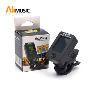 Wholesale 10pcs JOYO JT-01 Guitar Bass Violin Ukulele C Ukulele D Chromatic Tuner JOYO The 8th Anniversary Clip Tuner Free shipping MU0511
