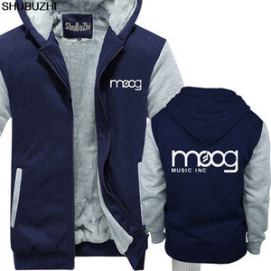 Wholesale MOOG hoodie SYNTHESIZER SYNTH STUDIO KEYBOARD MUSICIAN VARIOUS COLOURS Cool winter thick hoodies men jacket sbz1446