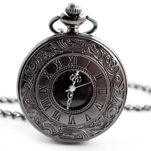 Wholesale Quartz pocket watch pastoral style retro Roman pocket watch men s and women s clothing accessories quartz watch