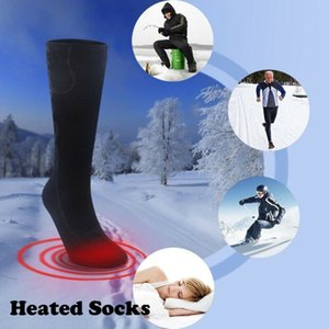 Wholesale heated socks resale online - Electric Heated Socks Rechargeable Battery Feet Foot Warmer For Skiing US