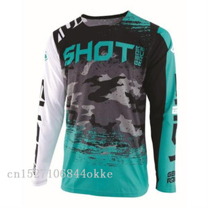 Wholesale 2019 Motocross Jersey fit adult For SHOT counter Jersey Downhil Mountain Bike DH Shirt MX Racing Sports