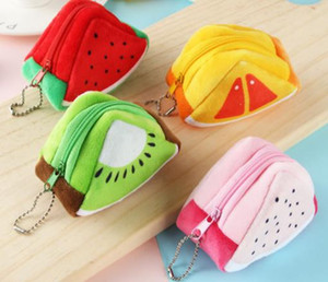 Wholesale Free shipping Mini cartoon coin purse for girls change pouch money wallet small key holder gift Promotion wholesale hot sale