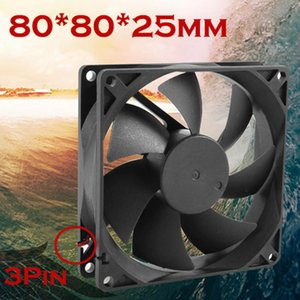 Wholesale Mokingtop Quiet cm mm x70x25mm V Computer PC CPU Silent Cooling Case Fan For Radiator Mod