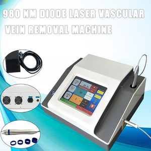 Wholesale 15 W laser vein treatments nm diode laser vascular removal spider vein removal machine Equipped with blue rings