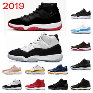 Wholesale 11 Top quality s Bred Basketball shoes breathable Running shoes Cap and Gown Concord High sports sneakers size
