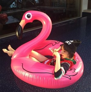 Wholesale tube pool vison water float inflatable party toys air huge inflatable sea cm Flamingo
