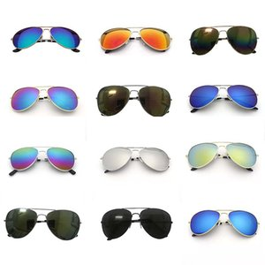 Wholesale Sports Brand Sunglasses Colors Unisex Man Women Luxury Bicycle Cycling Goggles Anti UV Sunglasses Fashion Metal Retro Shade Eyewe Glasses
