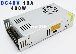 Wholesale Freeshipping single output Switching Power Supply for Led Strip AC110v V to DC48V A W Voltage Transformer Regulated Power Supply v