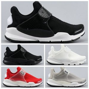 Wholesale Fragment SOCK DART Presto SP Running Shoes Women Black White Red Breathable Casual Jogging Sport Trainer Sneakers Designer Mens shoes
