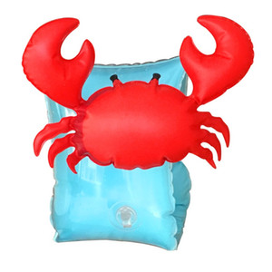 Wholesale crab rings for sale - Group buy Water Sleeve New Style Flamingo Crab Swimming Ring Children Baby Modern Portable Outdoors Arm Circle Factory Direct Selling zy p1