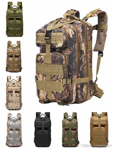 34 30L 3p Backpack Waterproof Outdoor Trekking Tactical Camping Military Sports Rucksacks Classic Bag Multi Colors Camouflage Oxford Cloth on Sale