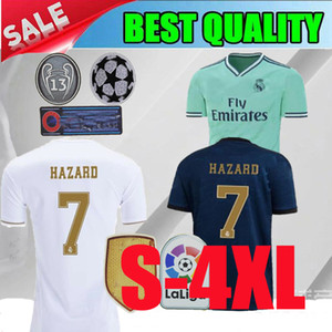 2019 Real madrid home MARIANO soccer jersey 19 20 Real madrid waway NAVAS ASENSIO VINICIUS JR BALE 2020 white football shirt size XS-5XL on Sale